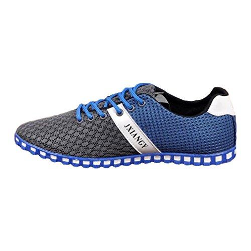 Foncé Gym Trainers Chaussures Running Run Exécution Léger Sport Sport Mesh Marcher Performance Gris Juleya Marche Homme Trainers Chaussures Athlétique pgqpUBw
