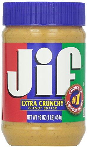 Jif Crunchy Peanut Butter, 16 oz