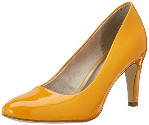 Orange F Blå Patent 22465 637 Tamaris Lukket Tå Natt Pumper mango f08Yqdw5