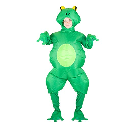 Bodysocks Kids Inflatable Frog Fancy Dress -