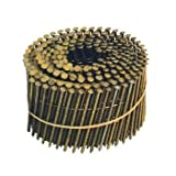 Interchange 16062 1-3/4'' x .083 Ring Shank Bright 15 Degree Wire Collated Siding Nail 16,000 Per Box