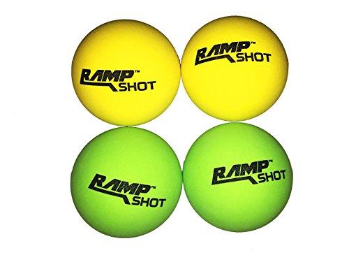 RampShot Replacement Balls 4pc set(2green,2yellow) 888