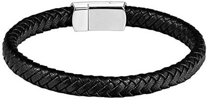 XCWXM Armband Herren Edelstahl Herren Und Damen Paar Armbänder Gewebte Seil Armbänder Titan Stahl Armband