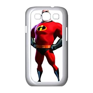 Incredibles Samsung Galaxy S3 9300 Cell Phone Case White Fakmj