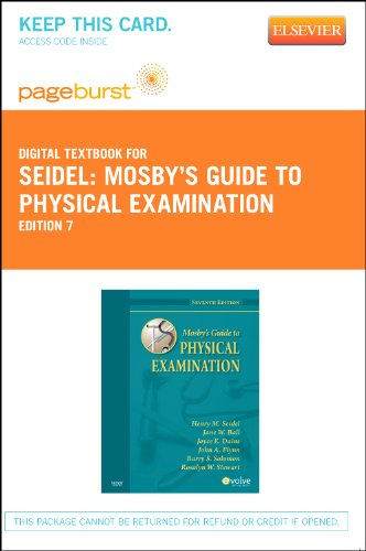 Mosby's Guide to Physical Examination - Elsevier eBook on VitalSource (Retail Access Card), 7e