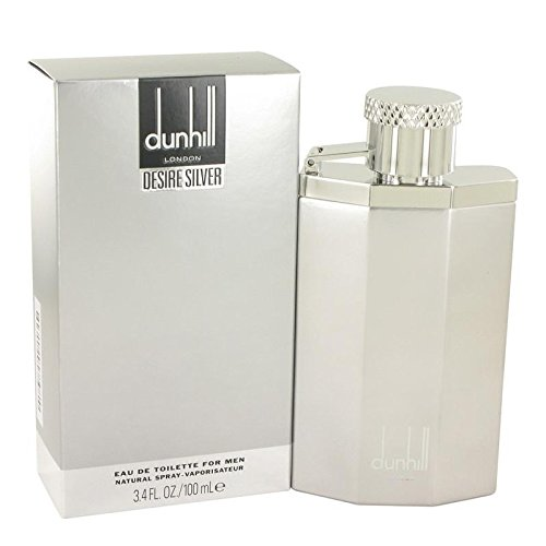 London De Toilette Eau Spray (Desire Silver London by Alfred Dunhill Eau De Toilette Spray 3.4 oz)
