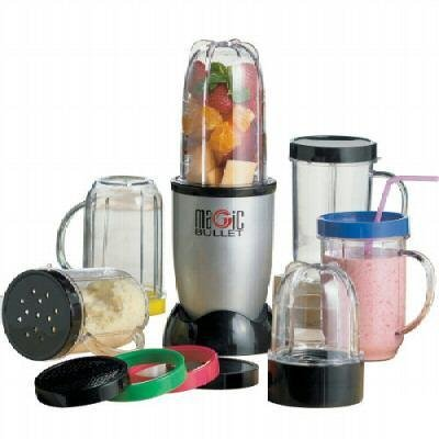 Magic Bullet Complete 21 Piece Mix and Chopping System As Se