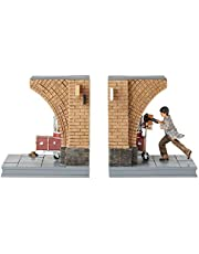 Wizarding World by Enesco Harry Potter Platform 9 3/4 bookend to Store Harry Potter Books or DVD Collection from Enesco