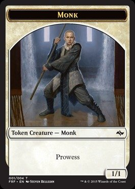 Magic: the Gathering - Monk - Fate Reforged