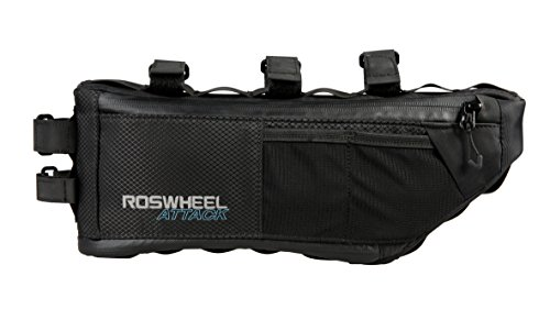 Roswheel ATTACK Series 121371 Waterproof Expandable Capacity Bike Frame Triangle Bag for Bicycle Cycling Accessories