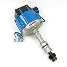 Pertronix D1102 Flame-Thrower Distributor HEI with Blue Cap for Oldsmobile V8