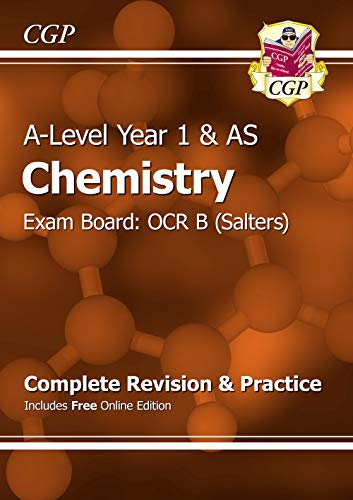 A-Level Chemistry: OCR B Year 1 & AS Complete Revision & Practice with Online Edition