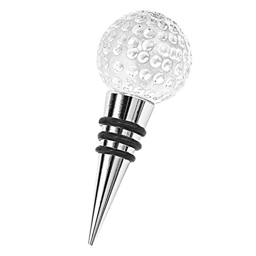 (Badash - Crystal Golf Ball Bottle Stopper)
