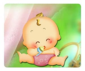 Cartoon Baby Kids Rectangle mouse pad by Custom Service Your Best Choice
