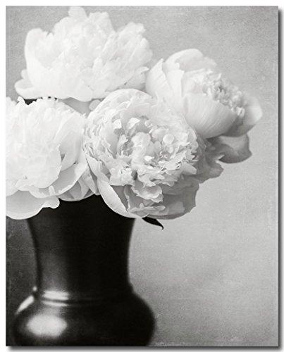 Amazon Elegant Black And White Flower Photography Bouquet Of