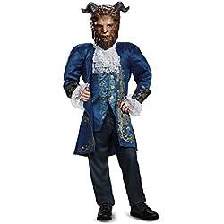 Beast Deluxe Movie Costume, Blue, Medium (7-8)