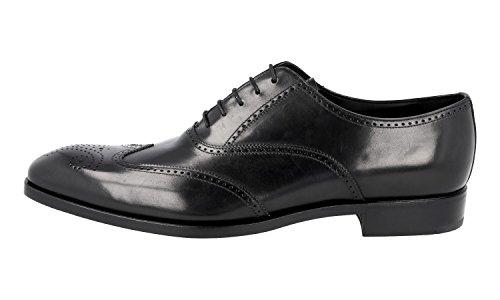 Brogue 2EB124 Prada Leather Men's Business Shoes Full qtxx7vZA