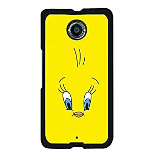 Beautiful Cover Case For Google Nexus 6 With Brave Tweety Bird Durable Cover