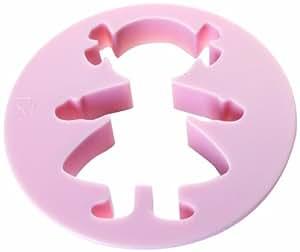 Ibili 788901 - Set 3 cortapastas niña (3+5+7,5 cm)