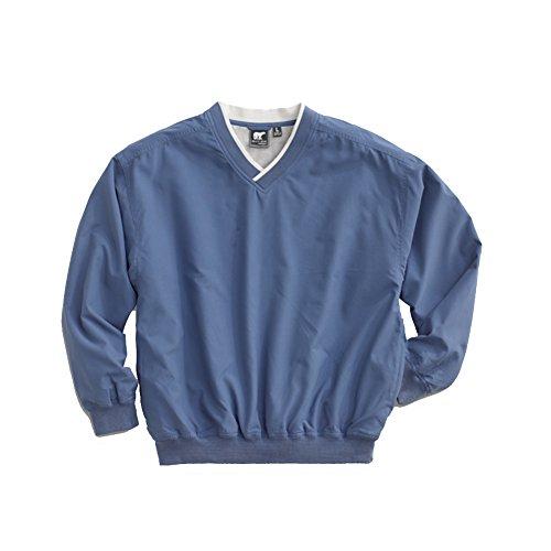 White Bear Men's Microfiber Windshirt, XX-Large, Atlantic Blue by White Bear