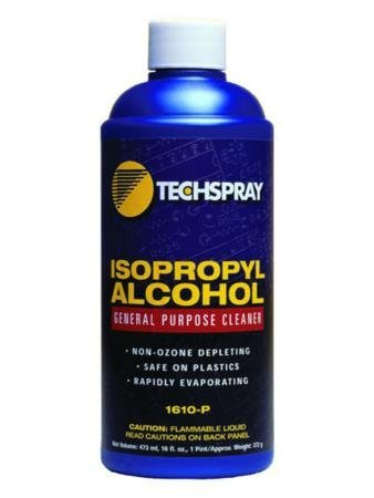 Techspray General Purpose Cleaners, Clear, Alcohol