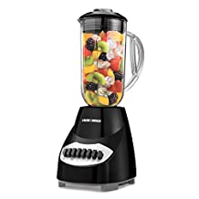 Black And Decker Bl2010B 10-Speed Plastic Jar Blender, 450-Watt, Black