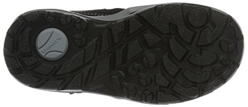 Lowa Milo GTX Hi, Zapatillas de Senderismo Unisex Niños Negro (Schwarz/hellgrau_black/light Grey)