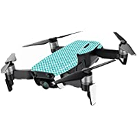 MightySkins Skin for DJI Mavic Air Drone - Turquoise Chevron | Min Coverage Protective, Durable, and Unique Vinyl Decal wrap cover | Easy To Apply, Remove, and Change Styles | Made in the USA