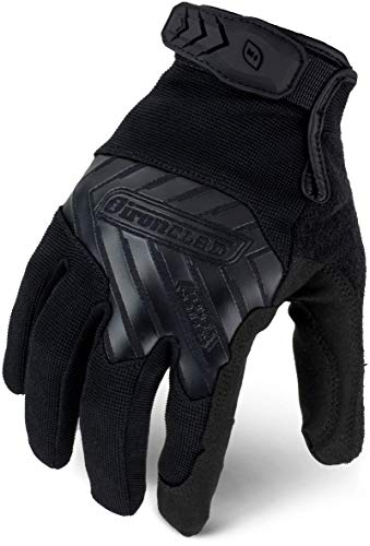 Ironclad Command Tactical Pro, Touch Screen Gloves Conductive Palm & Fingers, Taa Compliant, Best For Military, Law Enforcement, Airsoft, Paintball, Machine Washable, Sized S, M, L, XL, XXL (1 Pair)