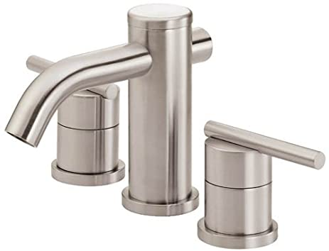 Danze D304058BN Parma Two Handle Widespread Lavatory Faucet, Brushed ...