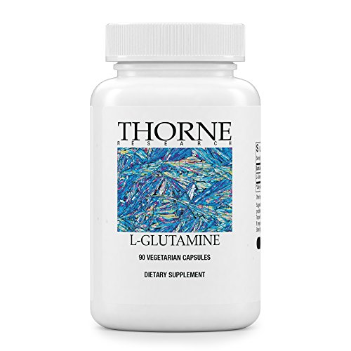Research Amino Acid (Thorne Research - L-Glutamine - Amino Acid Supplement for GI Health and Immune Function - 90 Capsules)