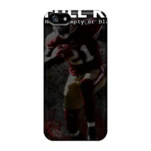 Mwaerke Case Cover Protector Specially Made For Iphone 5/5s 49ers Frank Gore