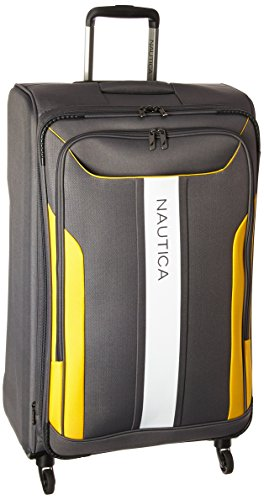 Nautica Expandable Spinner Luggage Yellow