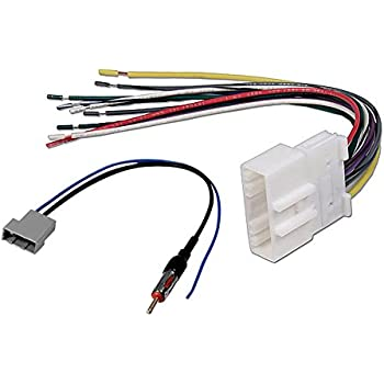 41MZ0 a9OuL._SL500_AC_SS350_ amazon com scosche nn03b wire harness to connect an aftermarket nn03b wiring harness at webbmarketing.co