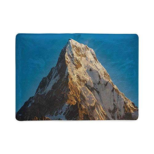 Farmhouse Decor Utility Notebooks,Panoramic Himalayas in Nepal Cold Terrain Asian Tibetian Nature Adventure for Work,5.82
