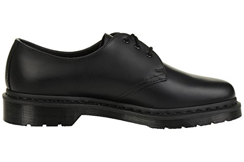 1461 Zapatos Cuero Unisex Martens 14345001 Black Monochrome Cordones De Dr qI6wnFEI