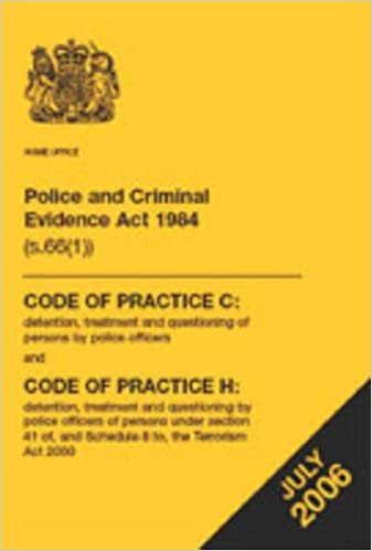 Police and Criminal Evidence Act 1984 (s 66(1)): code of practice C