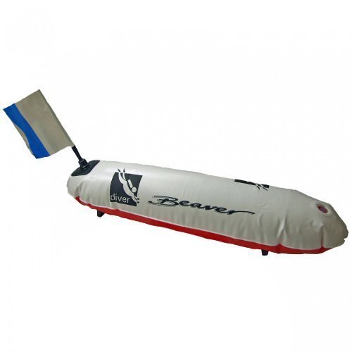 Beaver Sports - Surface Marker Buoy Divers SMB, Torpedo Shape by Beaver Sports