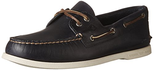 Sperry Top-Sider Authentic Original Orleans Boat Shoe Men 7 Navy