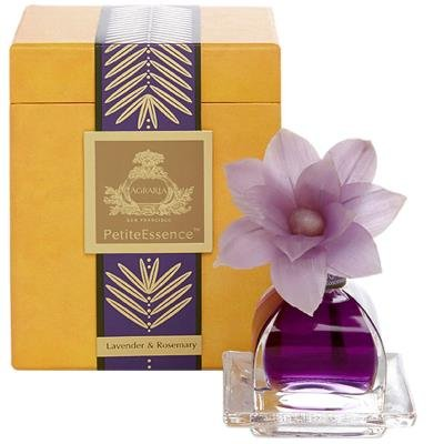 Lavender & Rosemary Flower Petitte Essence Reed Diffuser by Agraria San Francisco