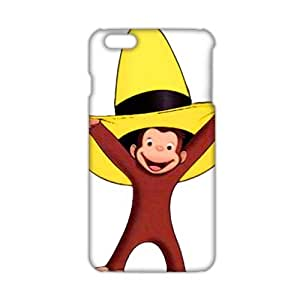Angl 3D Case Cover Cartoon Cute Monkey Phone Case for iPhone6 plus