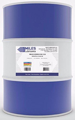 MILES LUBRICANTS M00600501 Nimbus ISO 320 Industrial Gear Oil, 55 gal, Drum by MILES LUBRICANTS