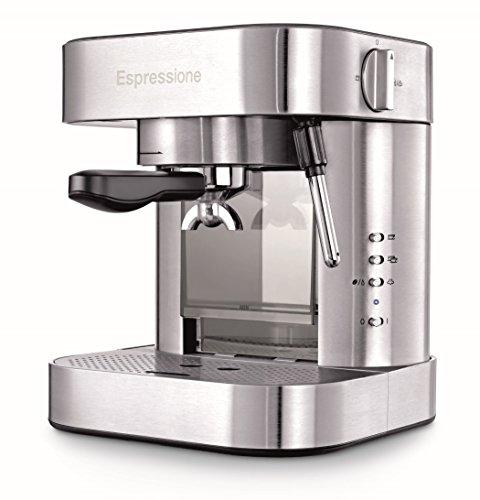 Espressione EM-1020 Stainless Steel Espresso Machine, 1.5 L,