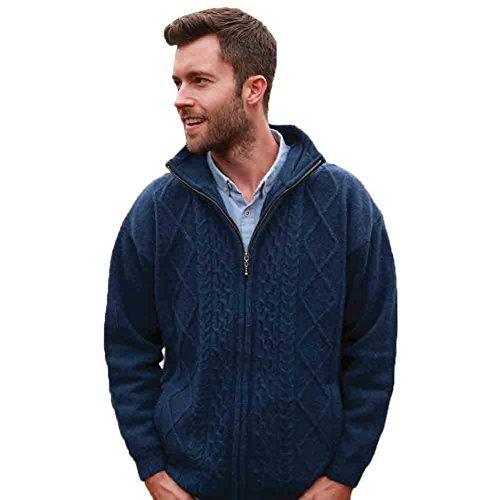 mens-wool-sweater-100-pure-irish-wool-made-in-ireland-blue