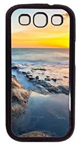 Last Rays Custom Case Cover for Samsung Galaxy S3 / SIII / I9300 - Polycarbonate - Black