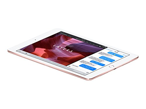 Apple iPad Pro 9.7-inch Wi-Fi plus Cellular, 128GB, Rose Gold (Year: 2016) by Apple (Image #2)