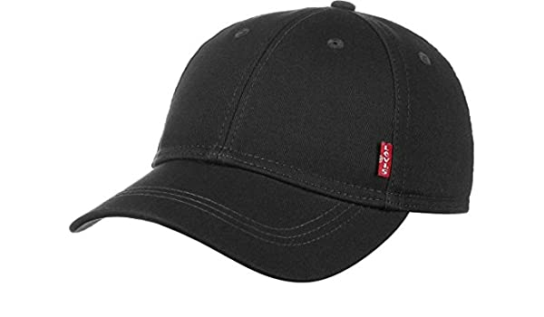 Levis Classic Twill Red Tab Cap One Size Black at Amazon Mens Clothing store: