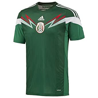 Adidas Mexico Home Authentic Jersey 2014 (S)