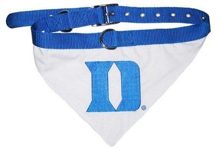 Pets First Duke University Collar Bandana, Medium (Duke University Best Known For)