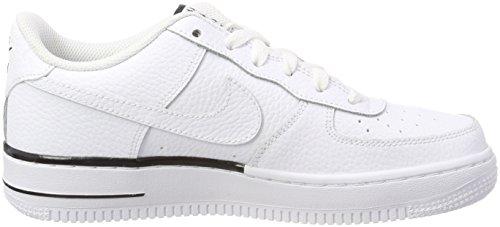 103 Air white white Nike Bianco Basket 1 Scarpe gs Bambino Da Force obsidian OfTqdBT7
